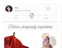 UI Redesign of Roposo App