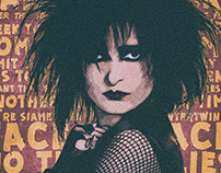 Siouxsie Siuox - Halftone Face to Face