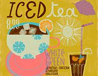 Iced Tea sign