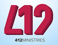 412 Ministries - Logo Design