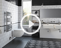 Black&White Bathroom Animation