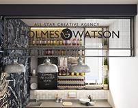 Holmes & Watson Kitchen