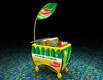 Lipton Movie Theater Trolley