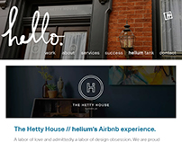 the hetty house // helium's airbnb experience