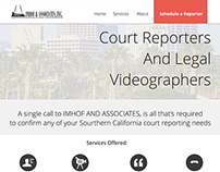 Imhof and Associate Court Reporters