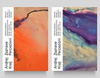 ZAZNAVE / PERCEZIONI — Art exhibition visual identity