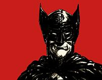Batman warmup sketch