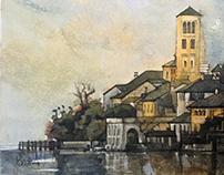 watercolor s.giulio