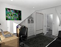 London Loft Conversion-Interior Design Concept /2018/