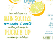 Main Squeeze - Engagement Party Invitation