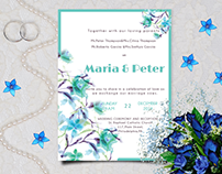 Wedding Invitation from Mint Collection