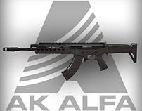 AK ALFA - assaulted rifle
