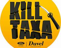 Kill Taxa. Campanha para Duvel (Ford).