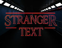 [Freebie] Stranger Things PSD Text Style