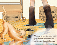 Makan tales Illustration Short Story
