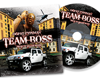 Team Boss CD Cover Design