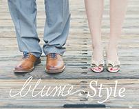 Blume Style | Logo, Tees, & Social Media Ads