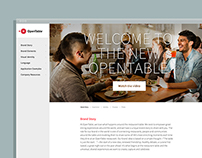 OpenTable Brand Site