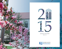Annual Review 2014–2015, KU Libraries