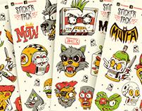 Sticker Pack *Mutante*