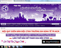Đội CTXH ĐH Kinh Tế TPHCM - Banner www.ctxh.vn