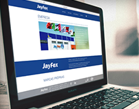 Design de website para Jayfex