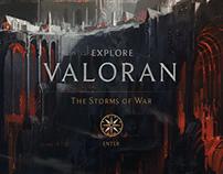 Valoran Map