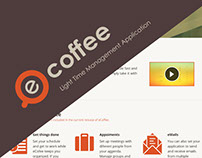 eCoffee - Web Design, Logo, Email and Icons