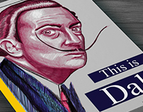 ''This is dali'' Book cover illustration