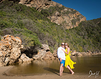 Keurboomstrand post wedding shoot by DHPhotography