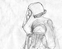 Pacific Rim - Scavenger Scout - Concept and Design