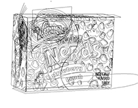 Willy Wonka Nerds Illustration