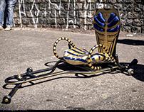 Rolimã Egípcio - Carrinho