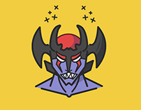 Devilman & Sirene Icon Design