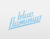 Blue Flamingo {Basic Branding}