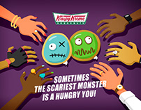 Krispy Kreme: Halloween 2016