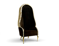 DRAPESSE Chair | By KOKET