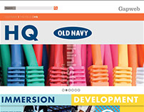 Old Navy - Employee Internal Site