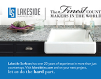 Lakeside Surfaces Inc. Marketing Materials