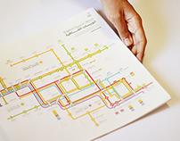 Experimental Cairo Transit Bus Map