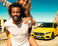 INSTANT FUN! MERCEDES-AMG A 35 Launch Campaign.