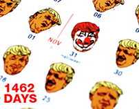 1462 DAYS OF TRUMP – A 4 YEAR CALENDAR