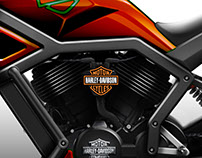 Naked Middleweight Motorcycle for Harley Davidson
