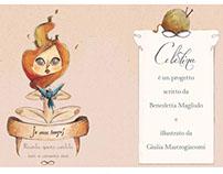 Celestina's Business card
