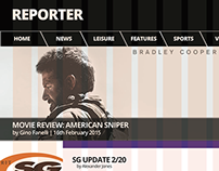 reporter re-design