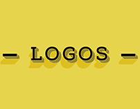 Logos, logotipos e estudos de identidade visual.