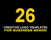 26 Latest Creative Logo Templates