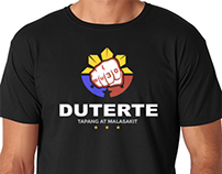 Duterte BLACK Shirt Design