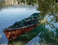 Il lago di Bled - natanti