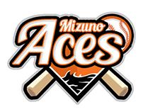 Aces Mizuno Baseball Logo Design